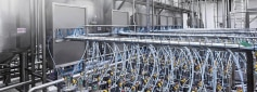 Distributed Automation with process valves in a plant