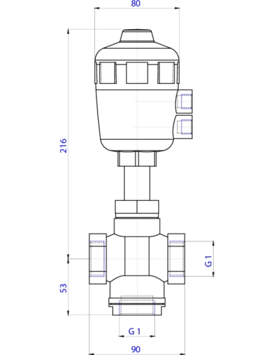 2133 3 2 way piston operated seat valve pneumatic globe valves Three Way Valve Schematic Diagram specific products may differ slightly from the general images shown