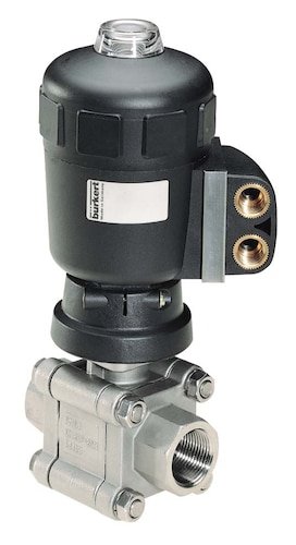 pneumatic rotary actuator applications
