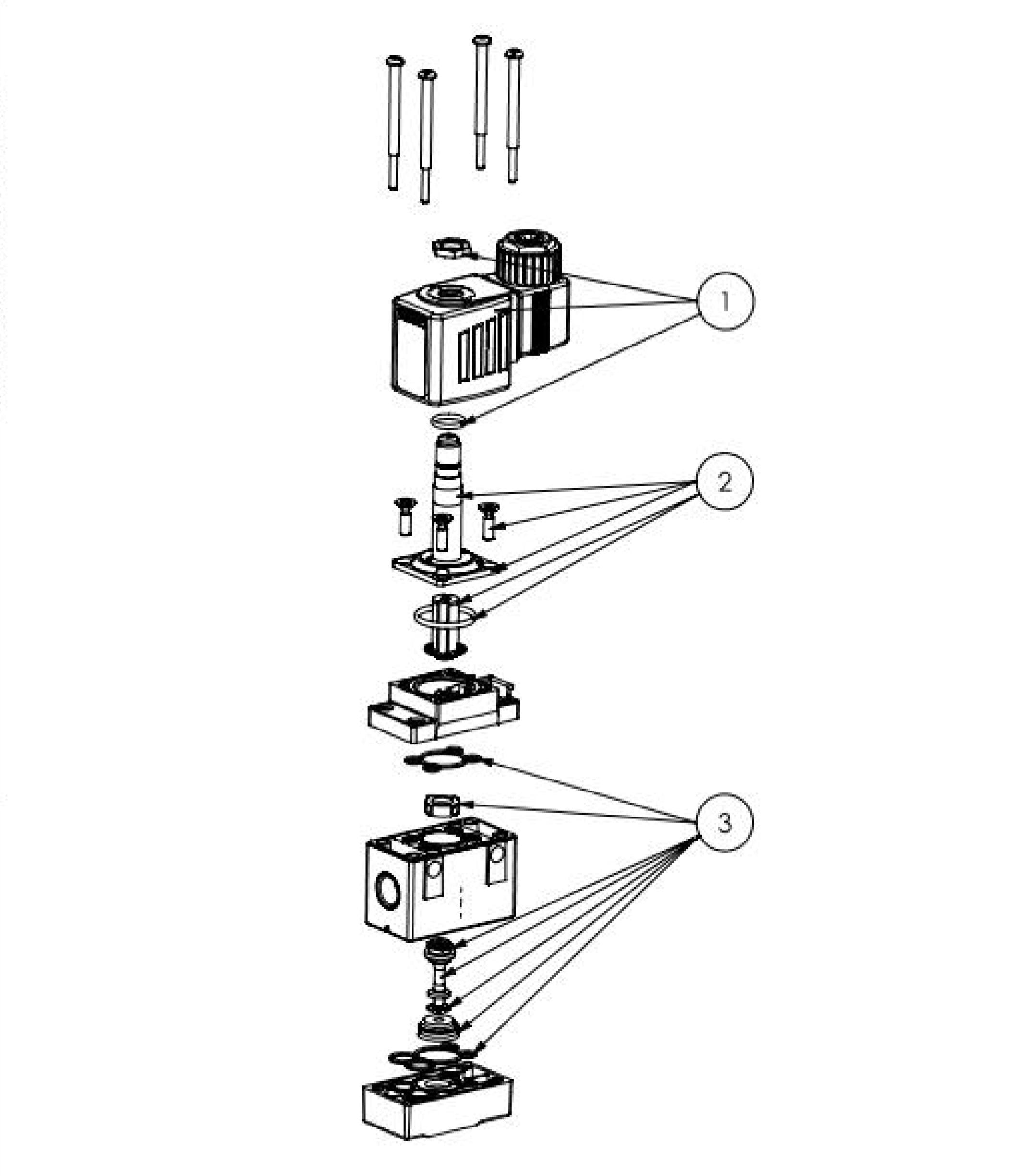pneumatic 3 way valve diagram